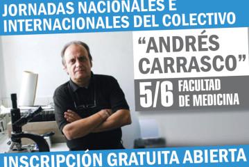 """JORNADAS NACIONALES E INTERNACIONALES DEL COLECTIVO """"ANDRÉS CARRASCO"""""""