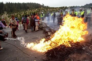 Ante la represión en Ecuador