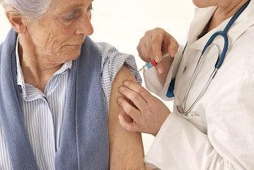 Influenza vaccination for older people