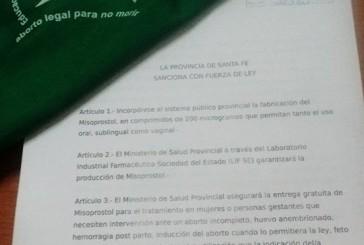 LA LEGISLATURA DE LA PROVINCIA DE SANTA FE  //SANCIONA CON FUERZA DE LEY: