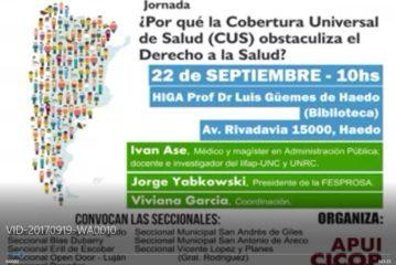 LA CUS EN EL GUEMES DE HAEDO EL 22/9 a las 10hs