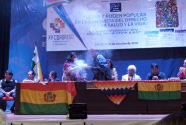 EL MOVIMIENTO POR EL DERECHO A LA SALUD EN ARGENTINA PARTICIPÓ DEL XV CONGRESO DE ALAMES EN BOLIVIA