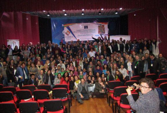 Compartimos foto del final del XV Congreso de Medicina Social y Salud Colectiva, La Paz, Bolivia