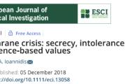La Crisis Cochrane: secretos, intolerancia y valores de la medicina basada en la evidencia. Por John Ioannidis
