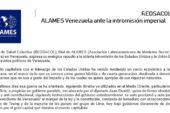 REDSACOL ALAMES Venezuela ante la intromisión imperial