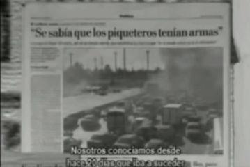 A 10 años de los Asesinatos de Darío y Maxi -Bandera Negra-