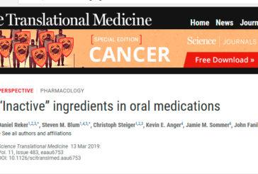 Los excipientes, unas sustancias en los medicamentos más activas de lo que pensamos