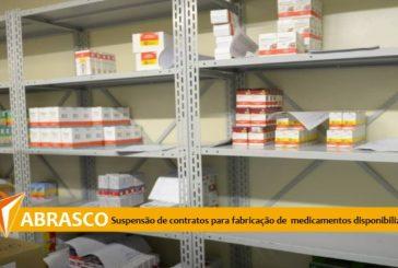 Nota Abrasco sobre la suspensión de contratos para la fabricación de 19 medicamentos puestos a disposición por el SUS.