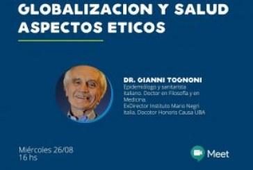 Ciclo de charlas Derechos Humanos y Pandemias… Gianni Tognoni
