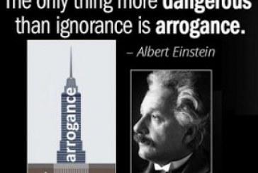 Torres de arrogancia sobre cimientos de ignorancia, por Juan Gérvas