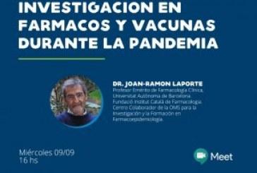 Derechos Humanos y Pandemia   Investigación en fármacos y vacunas   Dr  Joan Ramon Laporte (video de la charla)