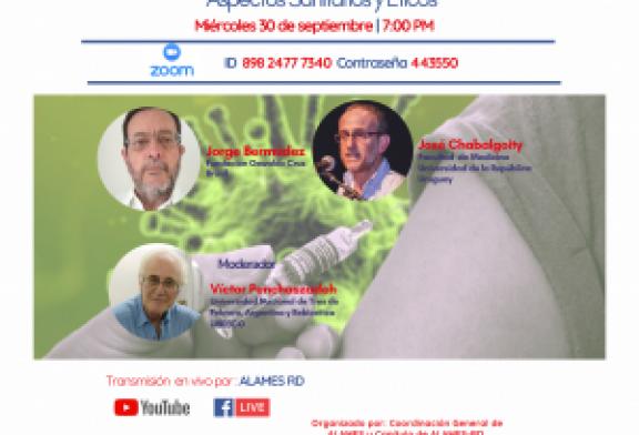 VACUNAS COVID – De la investigación a la aplicación universal. Aspectos Sanitarios y Éticos