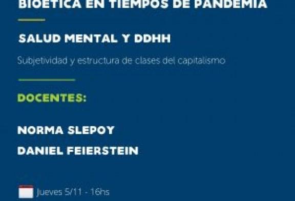 Curso DDHH y Bioética en tiempos de pandemia. Clase 8. Salud Mental y DDHH