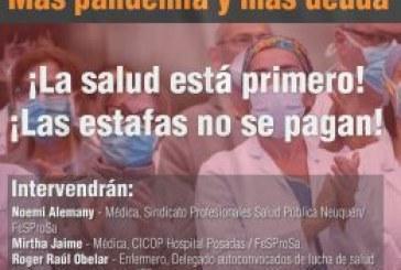 Conversatorio Deuda más pandemia = Más pandemia y más deuda